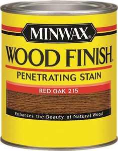 Minwax 70040444 Red Oak Wood Finish Stain Quart
