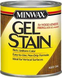 Minwax 26020000 Aged Oak Gel Stain 1/2-Pint