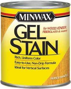 Minwax 66040000 Honey Maple Gel Stain Quart