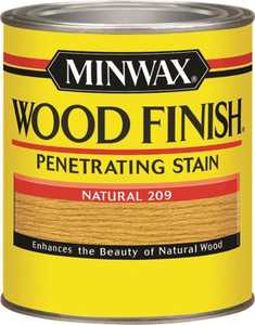 Minwax 70000444 Natural Wood Finish Stain Quart