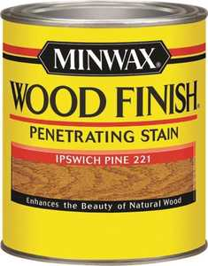 Minwax 70004444 Ipswich Pine Wood Finish Stain Quart