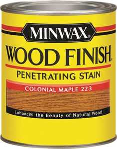 Minwax 70005444 Colonial Maple Wood Finish Stain Quart