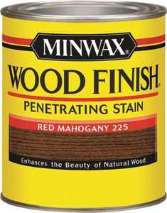 Minwax 70007444 Red Mahogany Wood Finish Stain Quart