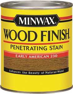 Minwax 70008444 Early American Wood Finish Stain Quart