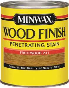 Minwax 70010444 Fruitwood Wood Finish Stain Quart