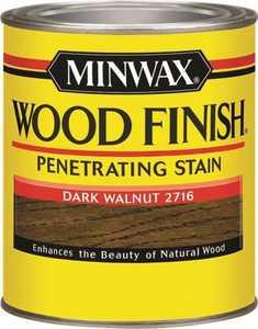 Minwax 70012444 Dark Walnut Wood Finish Stain Quart