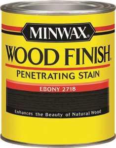 Minwax 70013444 Ebony Wood Finish Stain Quart