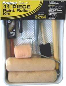 Linzer Products RS611 11-Piece Project Select Paint Roller And Tray Kit