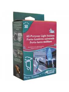 Adams Manufacturing 9040-99-1640 All Purpose Light Clips 50ct