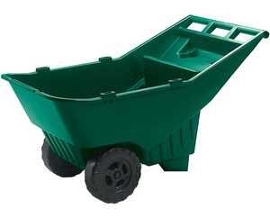 Rubbermaid Commercial 370612714 Roughneck High Impact Plastic Lawn Cart