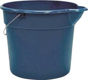 United Solutions PA0010 Organize Your Home Blue Multi-Use Plastic Bucket 12 Qt