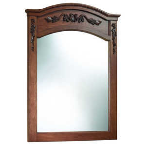Foremost Groups TUNM2635 Tuscany Walnut Wall Mirror