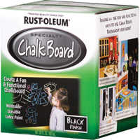 Rust-Oleum 206540 Black Chalkboard Latex