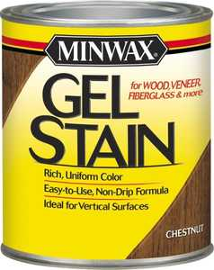 Minwax 26010000 Chestnut Gel Stain 1/2-Pint