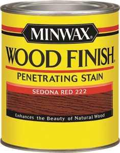 Minwax 70043 Sedona Red Wood Finish Stain Quart