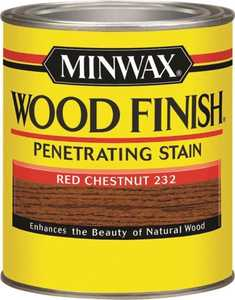 Minwax 70046000 Red Chestnut Wood Finish Stain Quart