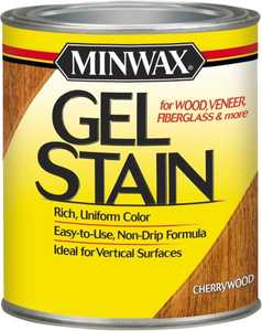 Minwax 26070000 Cherrywood Gel Stain 1/2-Pint