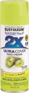 Rust-Oleum 249104 Painter's Touch Spray Paint And Primer Key Lime