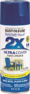 Rust-Oleum 249120 Painter's Touch Spray Paint And Primer Brilliant Blue