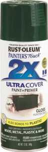 Rust-Oleum 249111 Painter's Touch Spray Paint And Primer Hunter Green