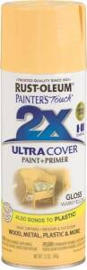 Rust-Oleum 249091 Painter's Touch Spray Paint And Primer Warm Yellow