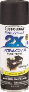 Rust-Oleum 249061 Painter's Touch Spray Paint And Primer Black