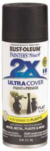 Rust-Oleum 249127 Painter's Touch Spray Paint And Primer Black
