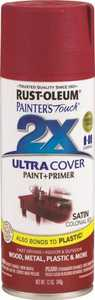 Rust-Oleum 249082 Painter's Touch Spray Paint And Primer Colonial Red