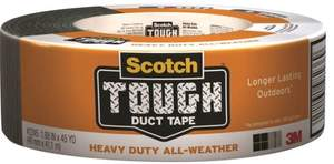 Scotch 2245-A 1.88-Inch X 45-Yard Tough All-Weather Duct Tape