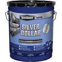 Gardner-Gibson 6215-GA 5g Silver Dollar Fib Aluminum Coat