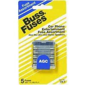 Bussmann Fuses KJ-5 Auto Fuse Japanese Glass Asst