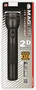 Mag Instrument ST2D016 Mag Flashlight LED 2d-Cell Black