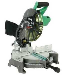 Hitachi 6951198 10 In Compound Laser Miter Saw
