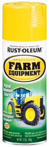 Rust-Oleum 7443830 Specialty Farm Equipment Spray Paint John Deere Yellow