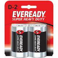 Energizer Battery 1250SW-2 Super Heavy Duty D Battery 2pk