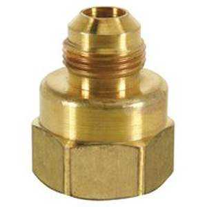 Brass Craft 8473738 294f 3/8odx1/2fip Half Union