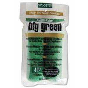Wooster Brush RR310-4 1/2 4.5 in J-K Big Green Roller Cover