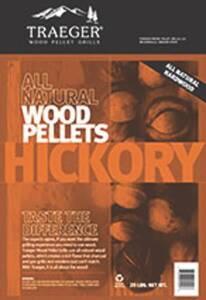 Traeger PEL304 Hickory Grill Pellets