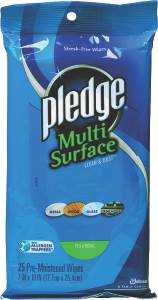 Sc Johnson 21462 Pledge Multi Surface Wipes