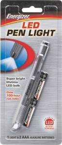 Energizer Battery PLED23AEH Led Penlight Flashlight