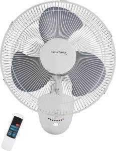 Homebasix FW40-S1 16 in Osc Wall Fan W/Remote