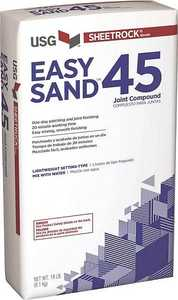 US Gypsum 384210120 Easy Sand 45 Lightweight Joint Compound White/Off-White 18 Lb