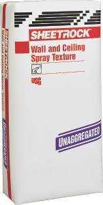 US Gypsum 545341 50lb Unagg Spray Texture