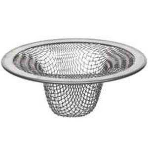 Danco 88820 2-1/2 Lavatory/Bathroom/Bathroom Stainless Steel Mesh Strainer