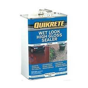 Quikrete 045.0011912.008 Wet Look Gloss Sealer Gallon