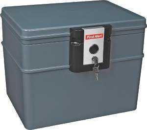 First Alert 2037F Key Lock Safe Water/Fire