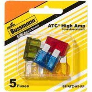 Bussmann Fuses BP/ATC-A5-RP Atc Blade Fuse Asst