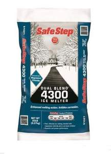 SafeStep 51021 20 Lb Dual Blend 4300 Ice Melter
