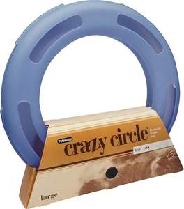 PETMATE, INC/DOSKOCIL 29393 Crazy Circle Cat Toy