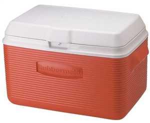 Rubbermaid Home 2A20-02-MODRD 34-Quart Red Cooler